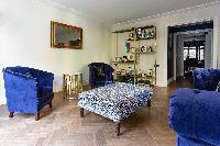 cool sitting area in Kensington Church Street VIII luxury apartment