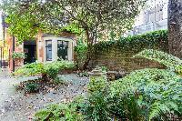 lovely garden of Kensington Church Street VIII luxury apartment