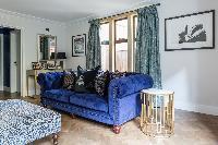 cool sitting room of Kensington Church Street VIII luxury apartment
