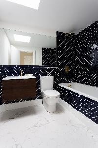 neat bathroom in Kensington Church Street VIII luxury apartment
