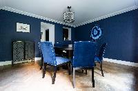 cool dining room of Kensington Church Street VIII luxury apartment