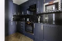 cool modern kitchen of Kensington Church Street VIII luxury apartment