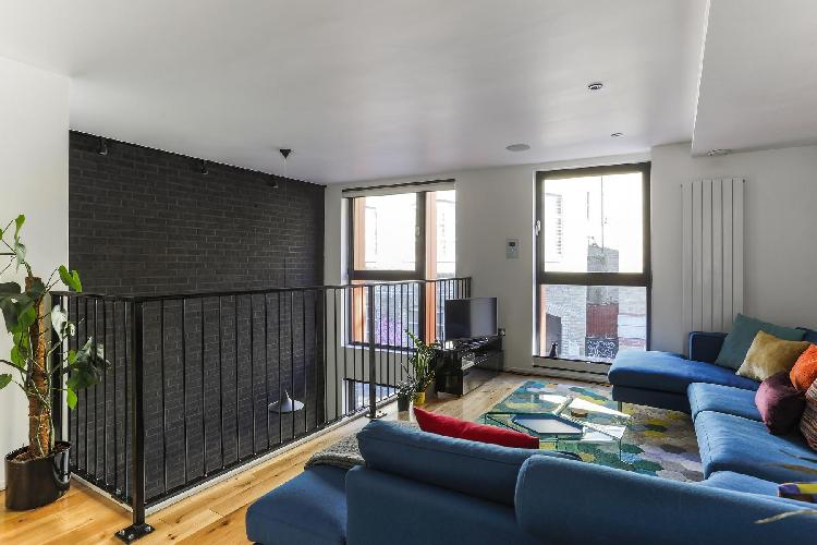 cool sitting area in Shoreditch - Grimsby Street II luxury apartment