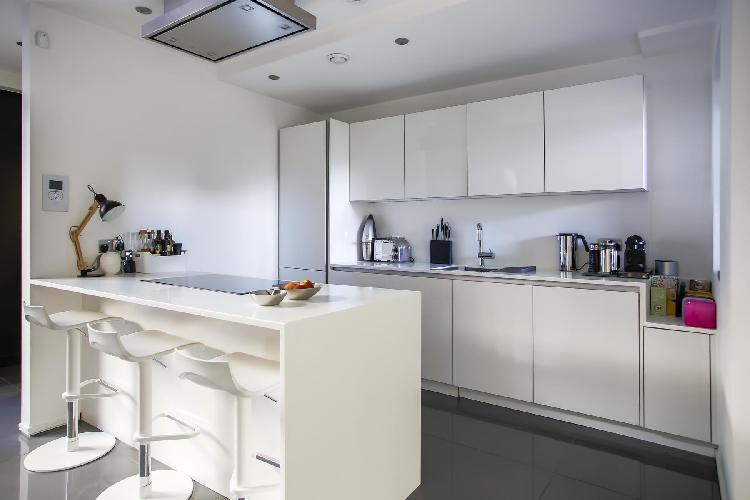 cool modern kitchen of Shoreditch - Grimsby Street II luxury apartment