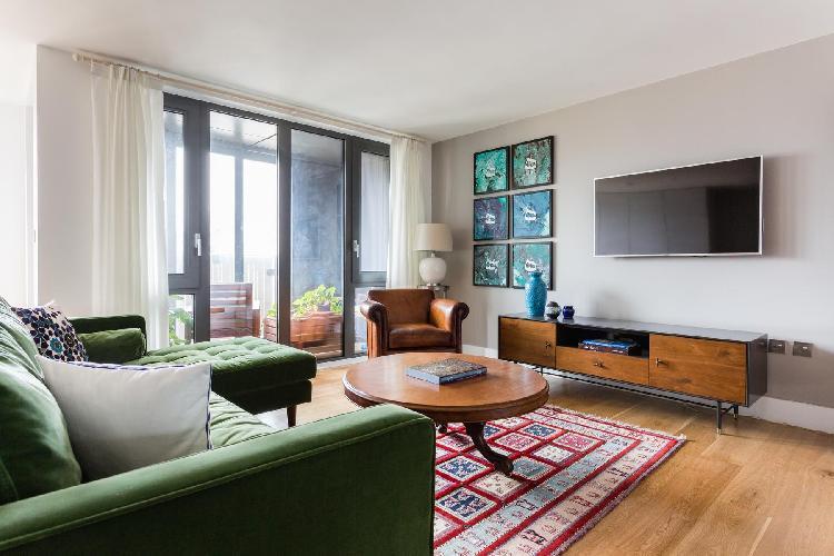 cool sitting area in Ladbroke Grove - Faraday Road II luxury apartment