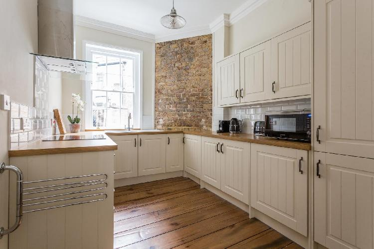 cool kitchen of Covent Garden - Neal Street luxury apartment