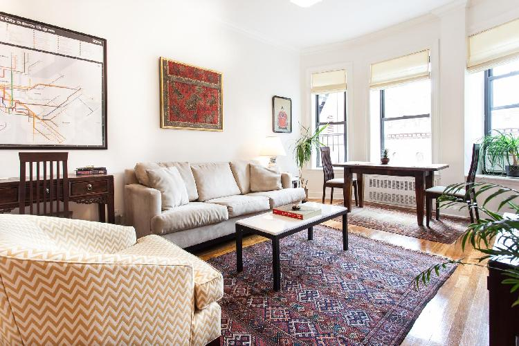 chic New York Central Park East luxury apartment