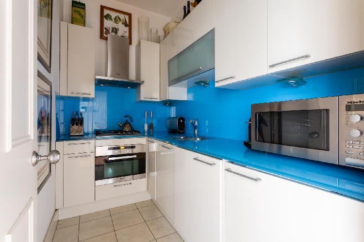cool kitchen of Pimlico - St George's Square IX luxury apartment