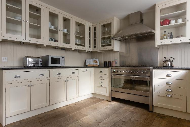 cool kitchen of Westminster - Ormond Yard luxury apartment