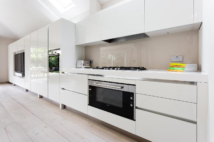 modern kitchen of Battersea - Albert Bridge Road VI luxury apartment, holiday home, vacation rental