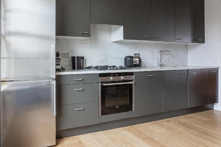 modern kitchen of Bayswater - Durham Terrace II luxury apartment, holiday home, vacation rental