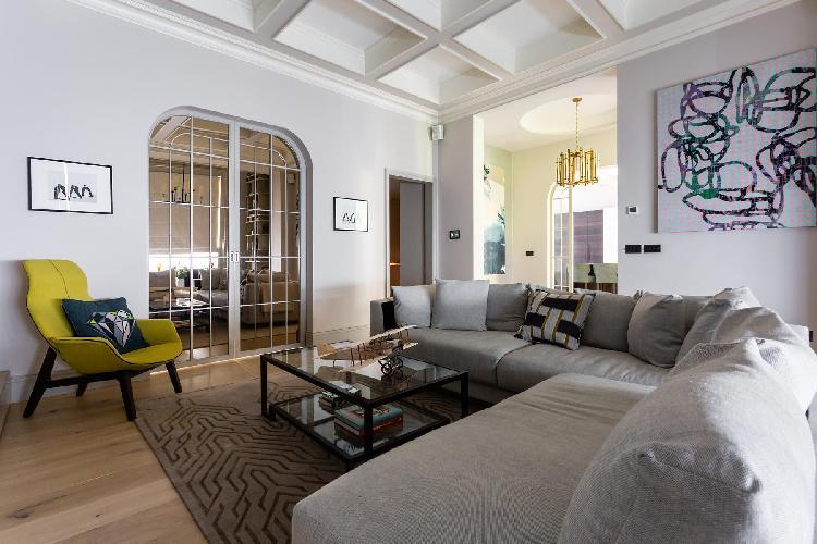 pleasant living room of South Kensington - Thistle Grove luxury apartment