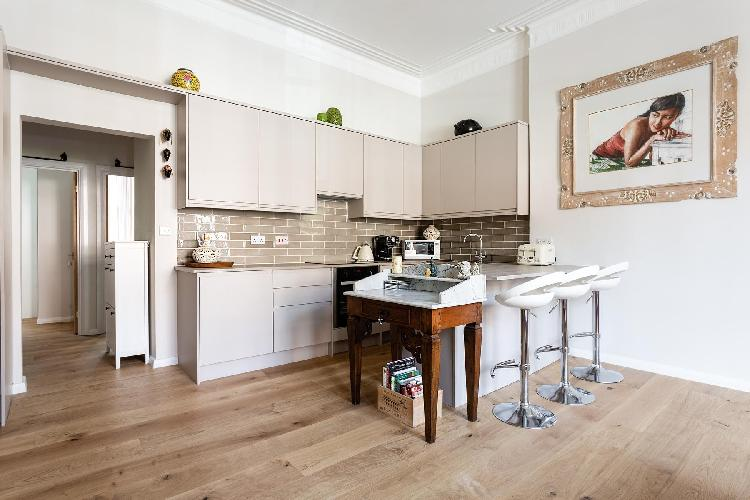 cool kitchen of Hampstead - Adamson Road luxury apartment