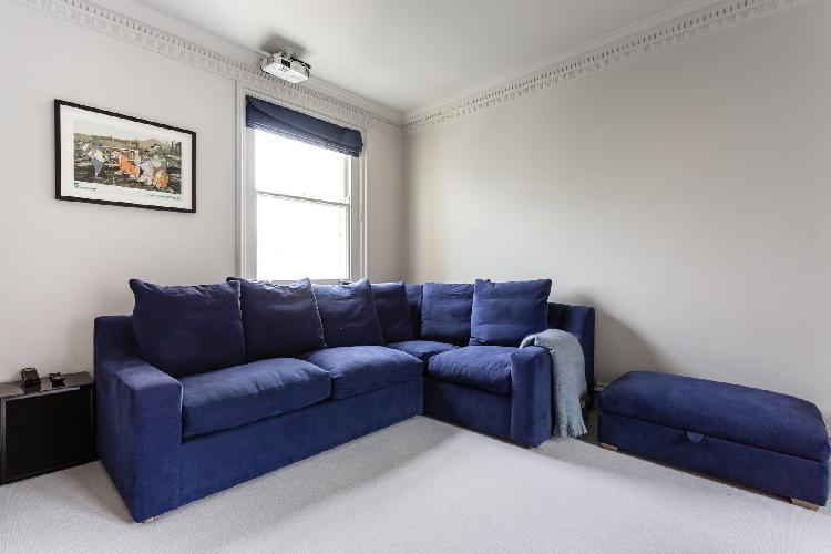cool sitting area in Notting Hill - Pembridge Square III luxury apartment