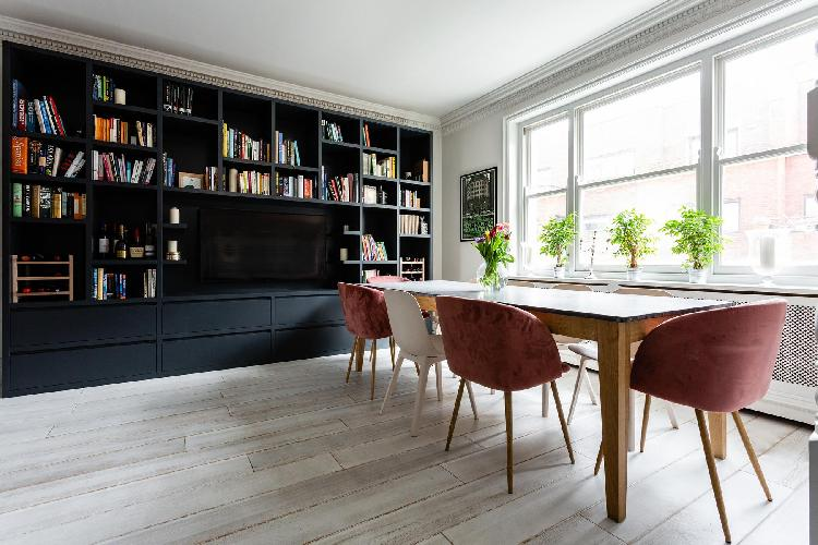 cool dining area in Notting Hill - Pembridge Square III luxury apartment