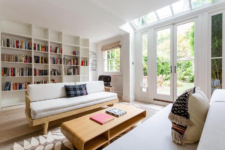 cool living room of Kensington Park Road VII luxury apartment
