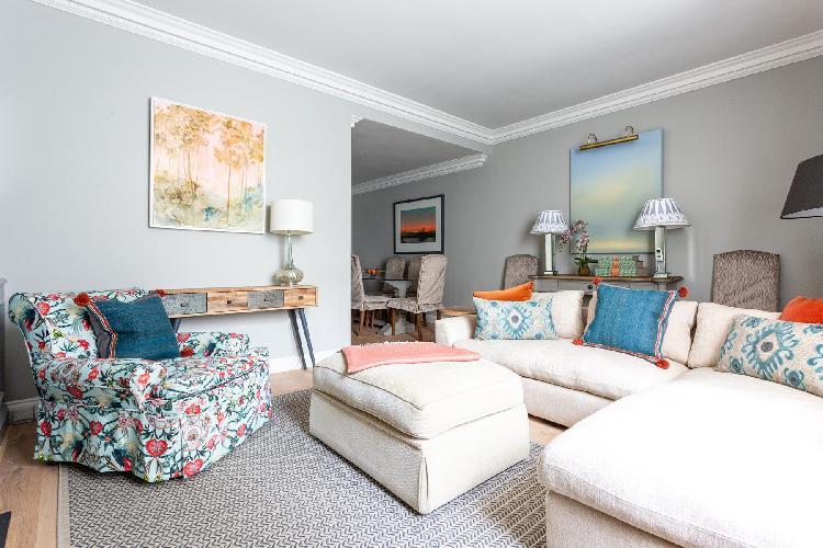 cool living room of Pimlico - Claverton Street luxury apartment