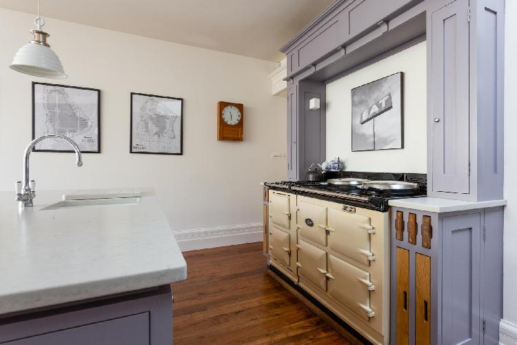 cool kitchen of Wandsworth Common luxury apartment