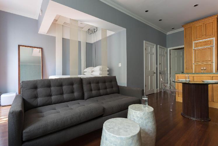 placid New York Central Park Studio luxury apartment