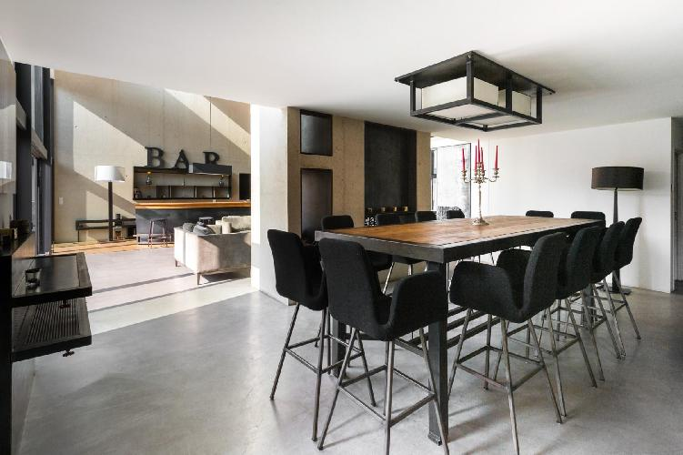 cool dining area in Paris - Rue Pierre Poli Townhouse luxury apartment, vacation rental