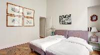 fresh linens in Saint Germain des Pres Odeon luxury apartment, holiday home, vacation rental