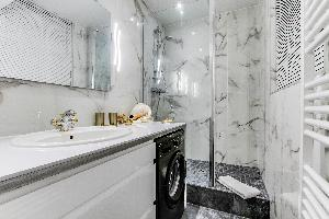 clean bathroom in luxury apartment and vacation rental