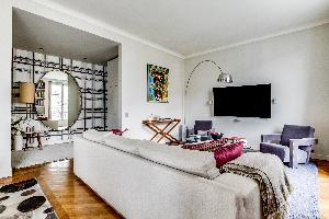 fully furnished Ternes luxury apartment, vacation rental