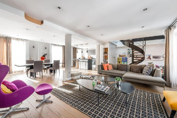 awesome Rue de la Victoire luxury apartment and vacation rental