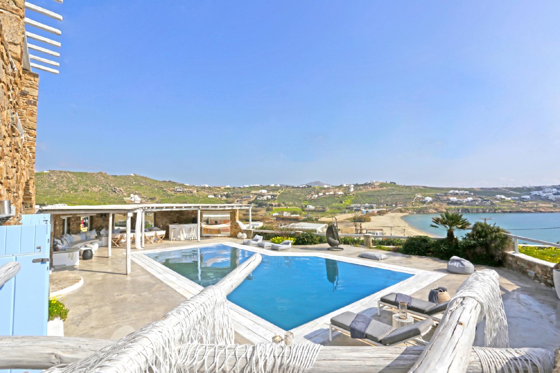 Villa Poseidon, beachfront villa with private pool by Elite Estates