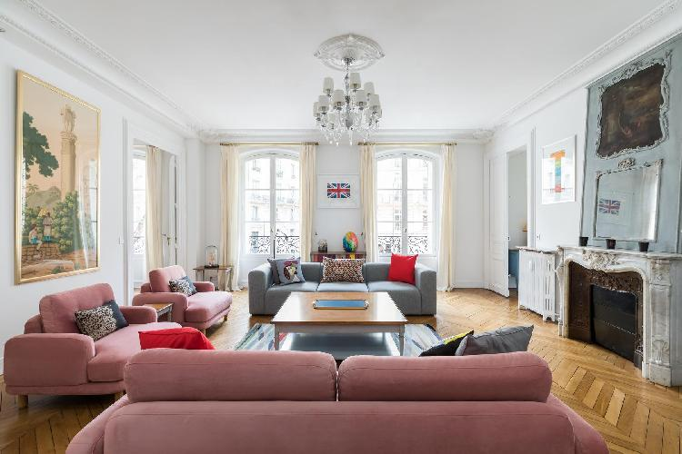 sunny and airy Parc Monceau - Avenue de Wagram IV luxury apartment