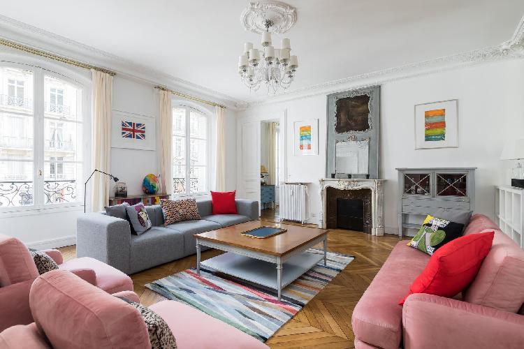 airy and sunny Parc Monceau - Avenue de Wagram IV luxury apartment