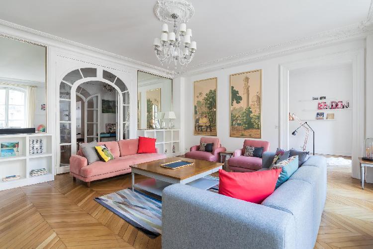 chic Parc Monceau - Avenue de Wagram IV luxury apartment