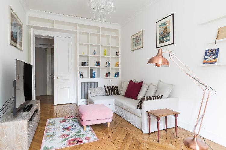 fully furnished Parc Monceau - Avenue de Wagram IV luxury apartment