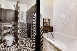cool bathtub in Montparnasse - Premiere luxury apartment and vacation rental