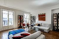 awesome living room of Saint Germain des Prés - Bonaparte luxury apartment