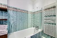 cool bathtub in Saint Germain des Prés - Bonaparte luxury apartment