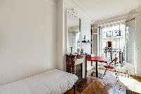 awesome balcony of Saint Germain des Prés - Bonaparte luxury apartment