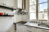 modern kitchen of Saint Germain des Prés - Bonaparte luxury apartment