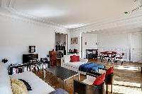 delightful interiors of Saint Germain des Prés - Bonaparte luxury apartment