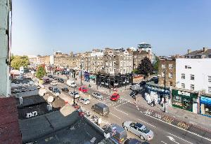 cool neighborhood view from Edgware Road luxury apartment and vacation rental