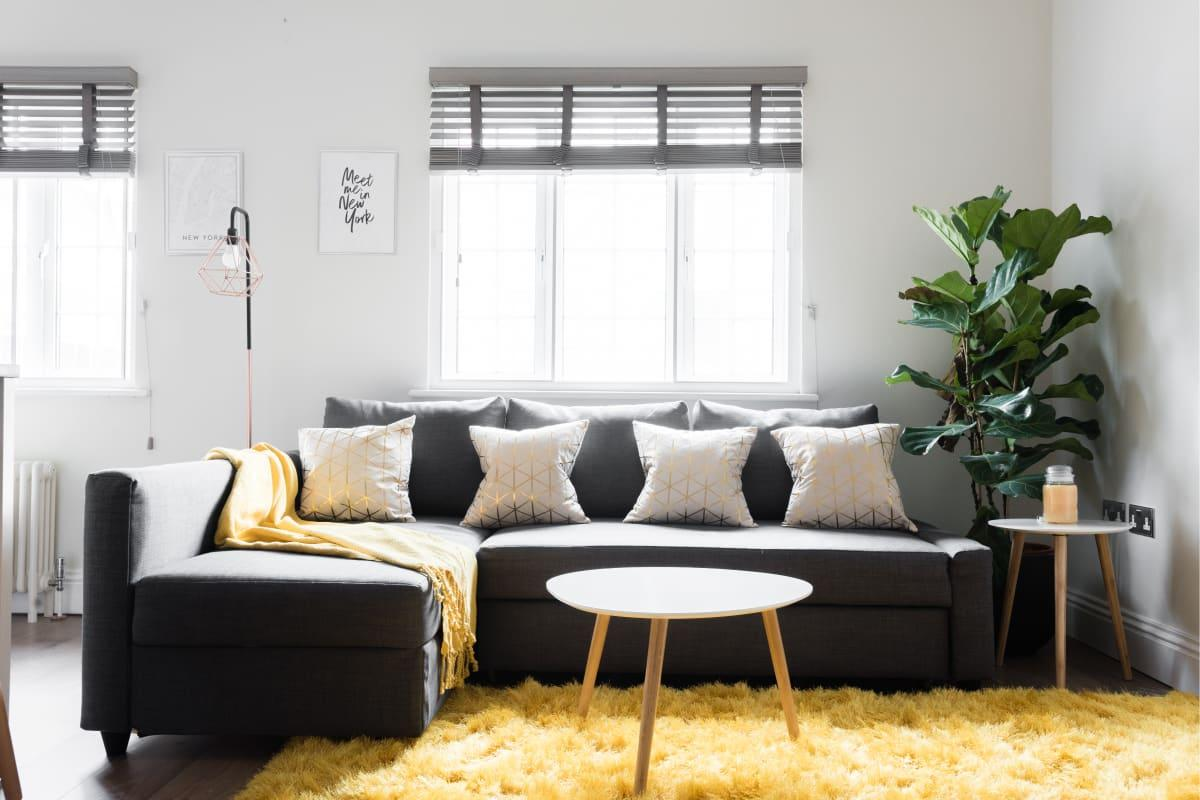 sunny and airy Soho Studio luxury apartment and vacation rental