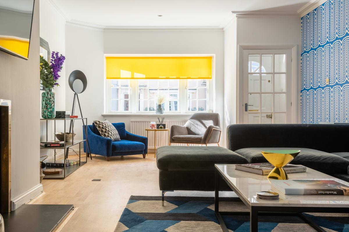 sunny and airy South Kensington Place luxury townhouse and vacation rental