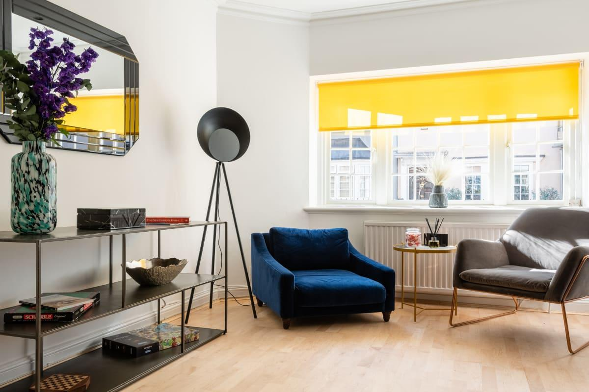 airy and sunny South Kensington Place luxury townhouse and vacation rental