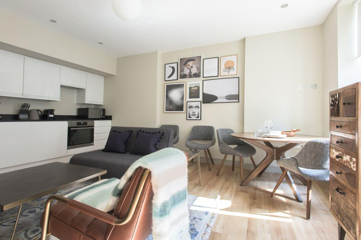 well-appointed Mayfair Parade luxury apartment and vacation rental
