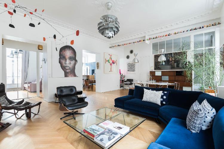 fascinating Boulevard de Bonne Nouvelle IV luxury apartment