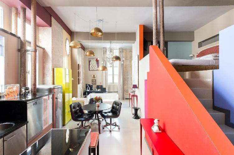 nice Le Marais - Impasse Guéménée Loft luxury apartment