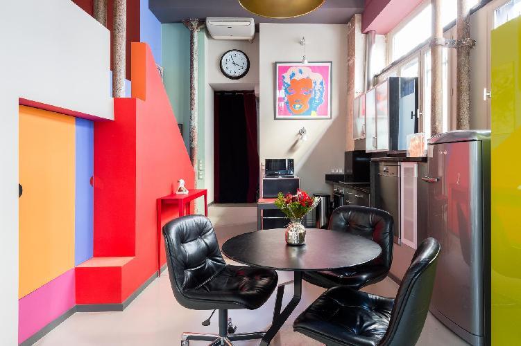 vibrant Le Marais - Impasse Guéménée Loft luxury apartment