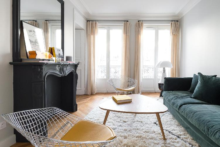 bright and breezy Eiffel Tower - Avenue Bosquet III luxury vacation rental