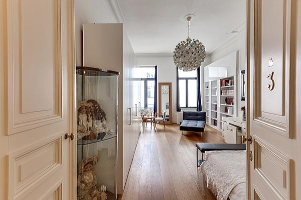 neat interiors of Brussels - Louise Stephanie III D luxury apartment