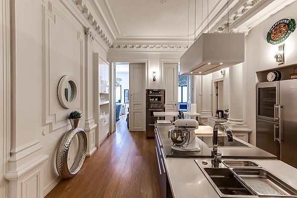 nice interiors of Brussels - Louise Stephanie III D luxury apartment